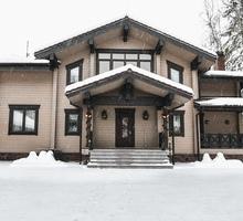 изображение проекта дома Дом из клееного бруса Зимняя сказка
