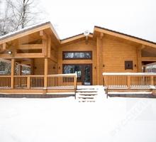изображение проекта дома Дом из клееного бруса Качаево