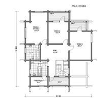 изображение проекта дома Хайтэк