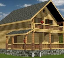 изображение проекта дома Николина Гора