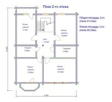 изображение проекта дома Сосны