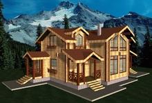 изображение проекта дома Хаустово