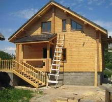 изображение проекта дома Дом из клееного бруса Репинские дачи