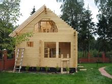 изображение проекта дома Дом из клееного бруса Лукоморье