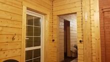 изображение проекта дома Дом из клееного бруса  Мария п.Вырица Л.О