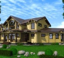 изображение проекта дома Проект дома из клееного бруса Прилуки