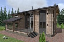 изображение проекта дома Проект дома из клееного бруса Норд