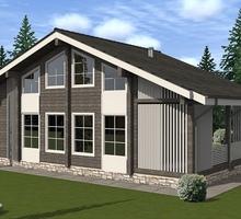 изображение проекта дома Проект дома из клееного бруса Норвежский