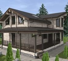 изображение проекта дома Проект дома из клееного бруса Светлана