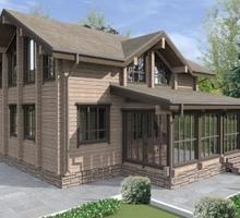 изображение проекта дома Проект дома из клееного бруса Рыбка 42
