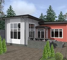 изображение проекта дома Проект дома из клееного бруса Молодежный