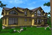 изображение проекта дома Проект дома из клееного бруса Оболенское