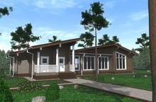 изображение проекта дома Лосиный остров