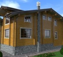 изображение проекта дома Проект дома из клееного бруса Элин Хаус
