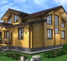 изображение проекта дома Проект дома из клееного бруса Кольцово