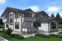 изображение проекта дома Проект дома из клееного бруса Марково
