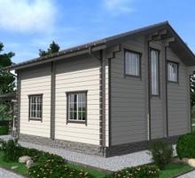 изображение проекта дома Проект дома из клееного бруса Нахимовское