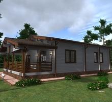 изображение проекта дома Проект дома из клееного бруса Налимск