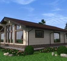 изображение проекта дома Проект дома из клееного бруса Невиномысск