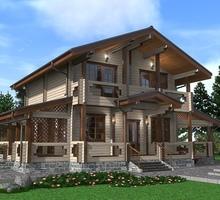 изображение проекта дома Проект дома из клееного бруса Новый Берег