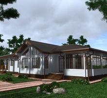 изображение проекта дома Проект дома из клееного бруса Песчаный