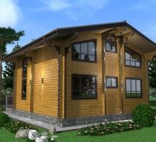 изображение проекта дома Проект дома из клееного бруса Шале Сочи