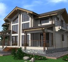 изображение проекта дома Проект дома из клееного бруса Сосновый бор 2