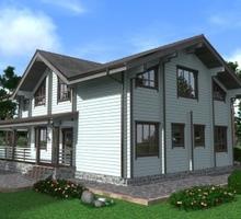 изображение проекта дома Проект дома из клееного бруса Устиново-2