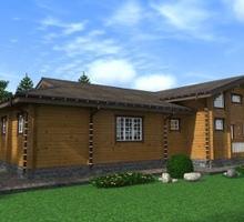 изображение проекта дома Проект дома из клееного бруса Вьюховский