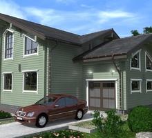 изображение проекта дома Проект дома из клееного бруса Великие озера 2