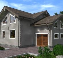 изображение проекта дома Проект дома из клееного бруса Великие озера