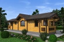 изображение проекта дома Проект дома из клееного бруса Вешенка