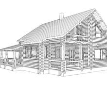 изображение проекта дома Проект дома из клееного бруса Михеево – 173
