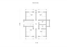 изображение проекта дома Проект дома из клееного бруса Ангара