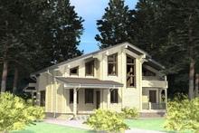 изображение проекта дома Проект дома из клееного бруса Савино