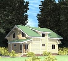 изображение проекта дома Проект дома из клееного бруса Шульгино