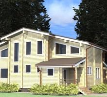 изображение проекта дома Проект дома из клееного бруса Бирск