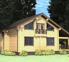 изображение проекта дома Проект дома из клееного бруса Восход