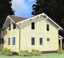 изображение проекта дома Проект дома из клееного бруса Елец
