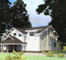 изображение проекта дома Проект дома из клееного бруса Маяк