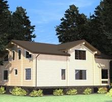изображение проекта дома Проект дома из клееного бруса Мельниково