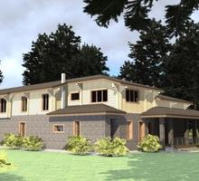 изображение проекта дома Проект дома из клееного бруса Проня