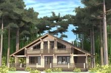 изображение проекта дома Проект дома из клееного бруса Енисей