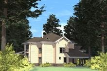 изображение проекта дома Проект дома из клееного бруса Оксана
