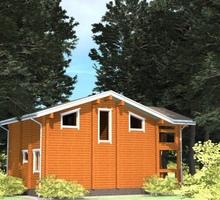 изображение проекта дома Проект дома из клееного бруса Тарасовка