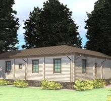 изображение проекта дома Проект дома из клееного бруса Рязань-2