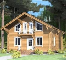 изображение проекта дома Проект дома из клееного бруса Дон