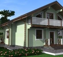 изображение проекта дома Проект дома из клееного бруса Витим