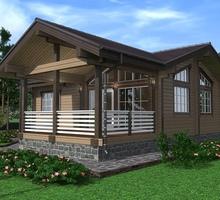 изображение проекта дома Проект дома из клееного бруса Чикаго