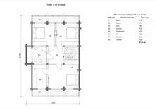 изображение проекта дома Проект дома из клееного бруса Алдан